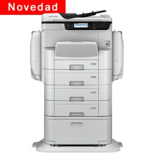 Impresora Multifunción Epson WorkForce Pro WF-C869RD3TWFC