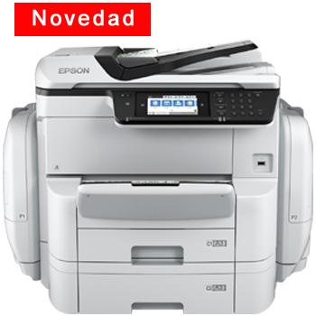 Impresora Multifunción Epson WorkForce Pro WF-C869RDTWF