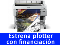 Plotters Epson con financiación