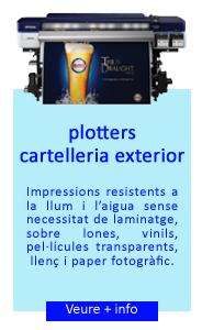 plotters Cartelería Exterior Epson