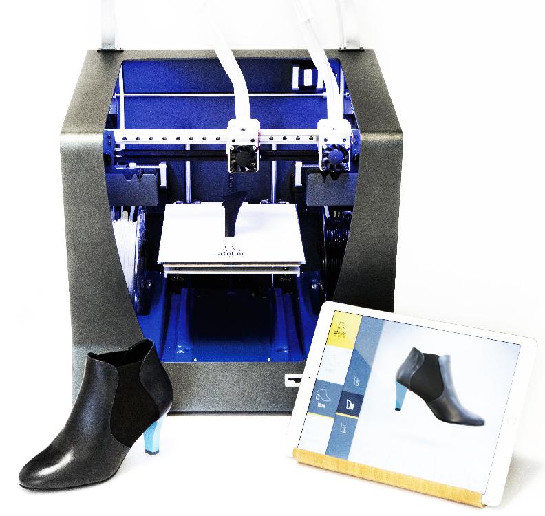 Impresora Bcn 3d Sigma caso práctico zapatos
