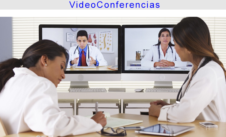 Foto Sanitat Video conferencias