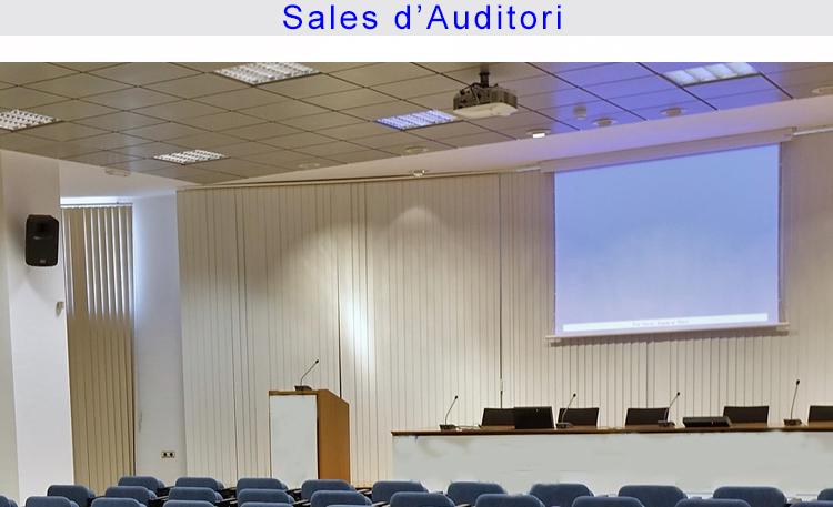 Foto educación salas de auditorio CATALÀ