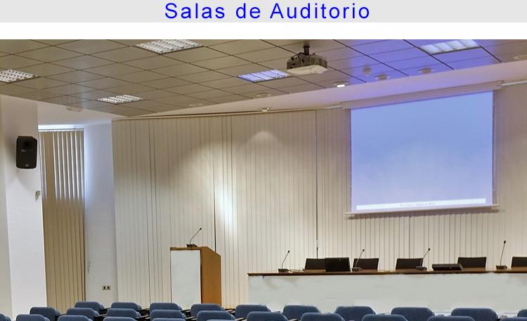Foto educación salas de auditorio