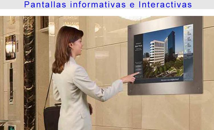 Foto hoteles pantallas informativas 2