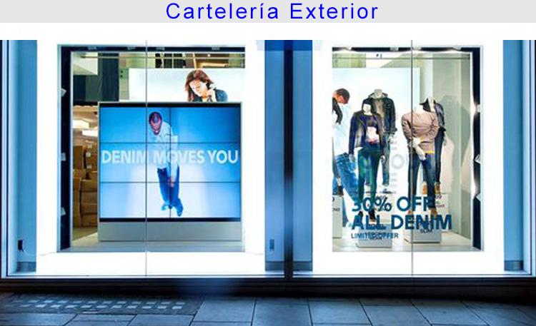 Foto retail cartelería exterior 2