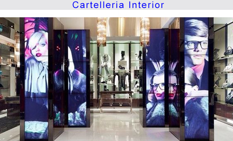 Foto retail cartelería interior 3 CATALÂ