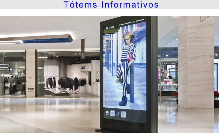 Foto retail tótems 3
