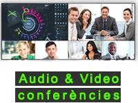 Home grafisme Audio & Video conferencias CATALÀ 2
